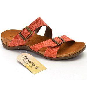 BearPaw Maddie Footbed Sandals Slides size 8